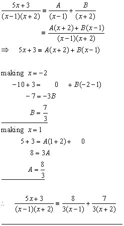 math worksheet : partial fractions algebra from a level maths tutor : Partial Fractions Worksheet