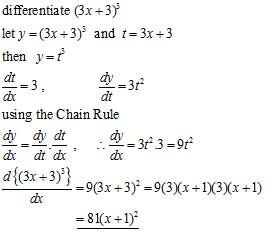 the chain rule differential calculus from a level maths tutor. Black Bedroom Furniture Sets. Home Design Ideas