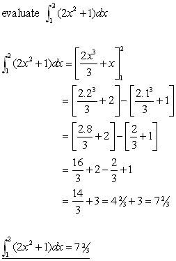 DEFINITE INTEGRALS, integration from A-level Maths Tutor