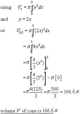 VOLUMES,SOLIDS OF REVOLUTION , integration from A-level Maths Tutor