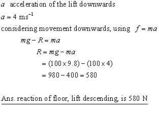lift problem #01ii