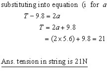 incline and pulley problem #01ii