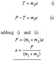 towe-bar equation #1